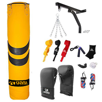 Punching Bag And Grappling Glove