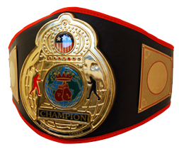 Boxing Champ Belt