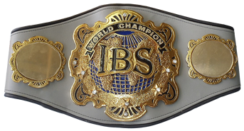 Boxing IBS Champio Belt