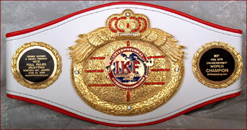 kick boxing belts