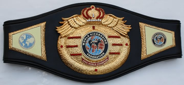 world kickboxing fedration championship belt