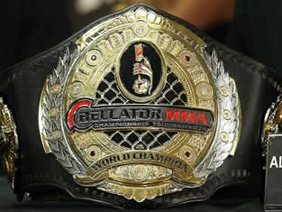 MMA champion belts