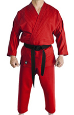 Red Judo Gi
