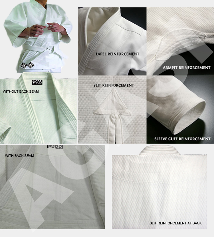 Detail For Agasi Judo Uniform